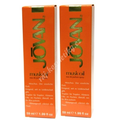 Jovan Musk Oil eau de Parfum spray 118 ml