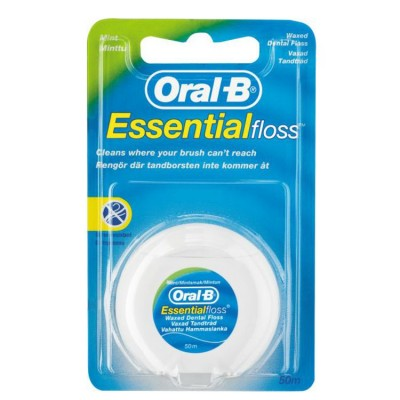 Oral-B EssentialFloss Mint Wax zubní niť voskovaná 50 ml