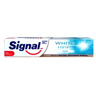 Signal White System Pure  zubní pasta 75 ml