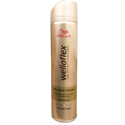 Wellaflex Brilliant Colors lak na vlasy 250 ml