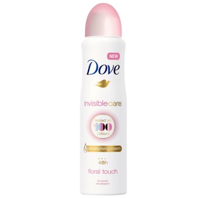 Dove Invisible Care Floral Touch deospray 150 ml