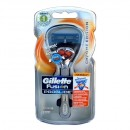 Gillette Fusion Proglide Flexball Chrome Edition + 2 žiletky